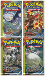 New Pokemon Primal Clash Trading Cards ~ 3 Cards Per Pack (Set of 3) Assorted