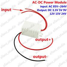 AC-DC 110V 220V 230V to 3.3V 5V 9V 12V 15V 24V Step Down Converter Power Supply