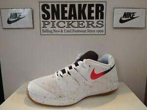 Nike Air Zoom Vapor X GS - AR8851 108 - White / Crimson - Youth 6Y / Wmns 7.5