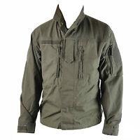 Austrian Olive Rip Stop Vintage F2 Ex Army Shirt Jacket Surplus G2