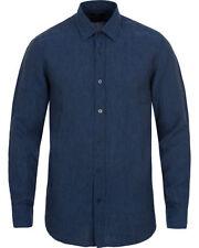HUGO BOSS Patternless Regular Formal Shirts for Men
