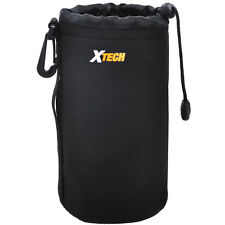"Xtech 8"" Neoprene Soft Lens Pouch Good For Nikon 70-300, 18-300, & 55-300 Lenes"