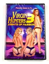 NEW Virgin Hunters 3 DVD Agents of Passion Surrender Femalien Sci Fi Comedy