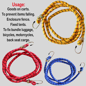 """Heavy Duty Elastic BUNGEE CORD 72""""/6FT   Travel Luggage Car Roof Stretch Rope"""
