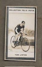 1900 TOM LINTON UNITED KINGDOM CYCLIST TRADE CARD