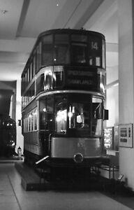 Glasgow Standard Tram Car 585, Science Museum, London Original 35mm negative