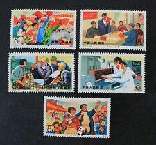 Ckstamps: China Prc Stamps Collection Scott#1281-1285 Mint Nh Og