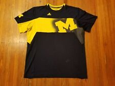 Adidas Michigan Wolverines Climalite Men's Size XL