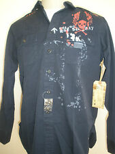 POLO by Ralph Lauren NAVY DRIVE FRIGATE CLASS shirt L NEW UNIQUE MUST HAVE