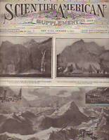 1910 Scientific American Supp October 8;Alcoholism;Food