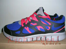 NEW WMNS NIKE FREE RUN+ 2 EXT Running Shoe 6 - 7 Royal Blue/Red/Black 536746-400