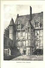 1884 Beauvais Archbishops Palace Rp Spiers Architectural Artwork