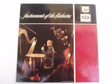 YEHUDI MENUHIN - INSTRUMENTS OF THE ORCHESTRA - LP