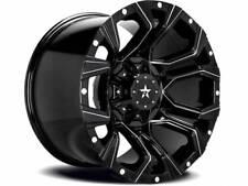 Set of 5 20x10 RBP 64R Widow Wheels Gloss Black Machined Jeep Wrangler JK JL 5x5