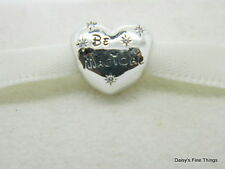 NEW! AUTHENTIC PANDORA CHARM DISNEY BE MAGICAL #791439CZ 50%OFF CLEARANCE