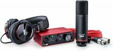 Focusrite Scarlett Solo Studio 3rd Generation 2 Channel USB Audio Interface & Recording Bundle