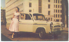 Ford Prefect de luxe 100E Original Factory issued Postcard export Pub. EX/C9738