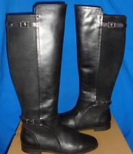 UGG Australia DANAE Black Tall Leather Riding Boots Size US 8, EU 39 NEW 1008683