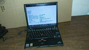 "IBM ThinkPad X41 Laptop intel Pentium M @ 1.60GHz 1.5 gig Ram 12.1"" LCD Screen"