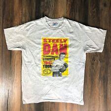 New listing Rare Vtg 90's Steely Dan Kid Charlemagne 1996 Summer Tour White Tee Sz Xl
