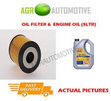 Essence filtre à huile + ll 5W30 huile moteur pour mini cooper 1.6 116 bhp 2001-06