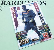 Match Attax 2015 2016 Topps PETR CECH Hundred 100Club 15 16 Arsenal