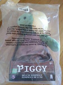 """Roblox Piggy Deluxe Zompiggy GITD 13"""" Plush with Light-Up Eye & Sounds"""