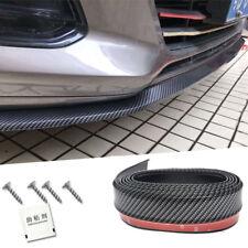 8.2ft Universal Carbon Fiber Front Bumper Lip Splitter Chin Spoiler Body Trim
