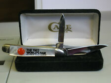 1982 Case XX USA World's Fair Knife 8220 SS GENUINE MOTHER OF PEARL Made In USA