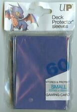 ULTRA PRO BLUE Deck Protector Card Sleeves YuGiOh Vanguard Small 60 Sleeves