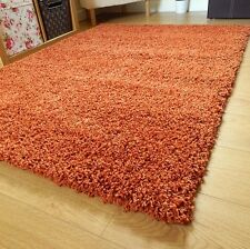 Small Extra Large Thick 5cm Pile Plain Soft Luxurious Non Shedding Gy Rugs
