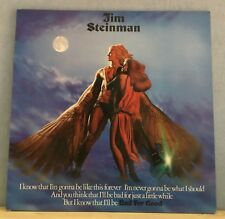 JIM STEINMAN Bad For Good 1981 UK VINYL LP + INSERT  EXCELLENT CONDITION b