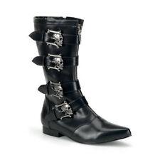 3a9f2164e0f Pleaser Black Boots for Men for sale | eBay