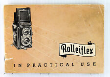 Original Manual for Rolleiflex MX, Type 1, 54 pages, printed August 1952