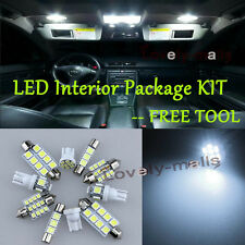 Pure White Light Bulb SMD Interior LED Package Kit For  Infiniti G35 Coupe 03-07