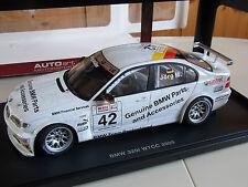 BMW 320i WTCC 2005 J. Müller #42 Autoart 80542 1/18 originalverpackt