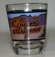 Vintage Shot Glass - Tucson Arizona Shot Glass