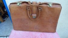 Valise vintage en cuir  luggage leather