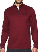 NEW! UNDER ARMOUR Men's Fleece Lightweight 1/4 Zip Pullover VARIETY SZ/CLR G42