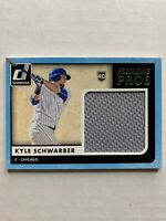 Chicago Cubs Kyle Schwarber Rookie Jersey Card