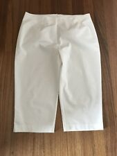 Fella Hamilton-White Capri Pant-Size 20