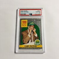 Gary Payton 1990 Hoops PSA 10 Rookie Card RC #391 Seattle Supersonics