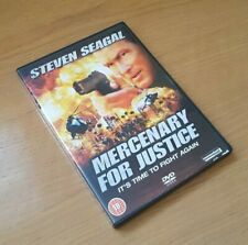 Excellent Condition - Case & DVD - Mercenary For Justice - Steven Seagal