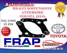 BRACCI SOSPENSIONE ANTERIORE CON TESTINE FRAP-TOYOTA AYGO (DAL 2/2005 IN POI)