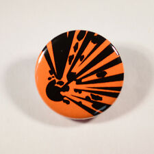 """FUNNY EXPLOSIVE EXPLOSION  Badge/Button GIFT with METAL PIN ( Size is 1"""" / 25mm)"""