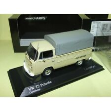 VW COMBI T2 PICK UP Pritschenwagen 1972 Beige MINICHAMPS 1:43