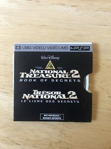 National Treasure 2 (2007) for PSP/UMD, With Nicholas Cage, Nic Cage Fans Only