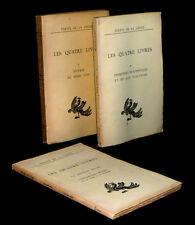 [CHINE CHINA PHILOSOPHIE LAO TSEU] CONFUCIUS & MENCIUS - Les Quatre Livres.