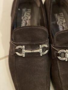 salvatore ferragamo mens shoes size 13
