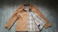 Designer BURBERRY Matelassé Trench Veste Taille 16,100% authentique
